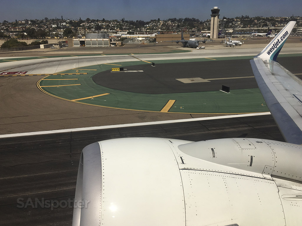 liftoff at san diego airport
