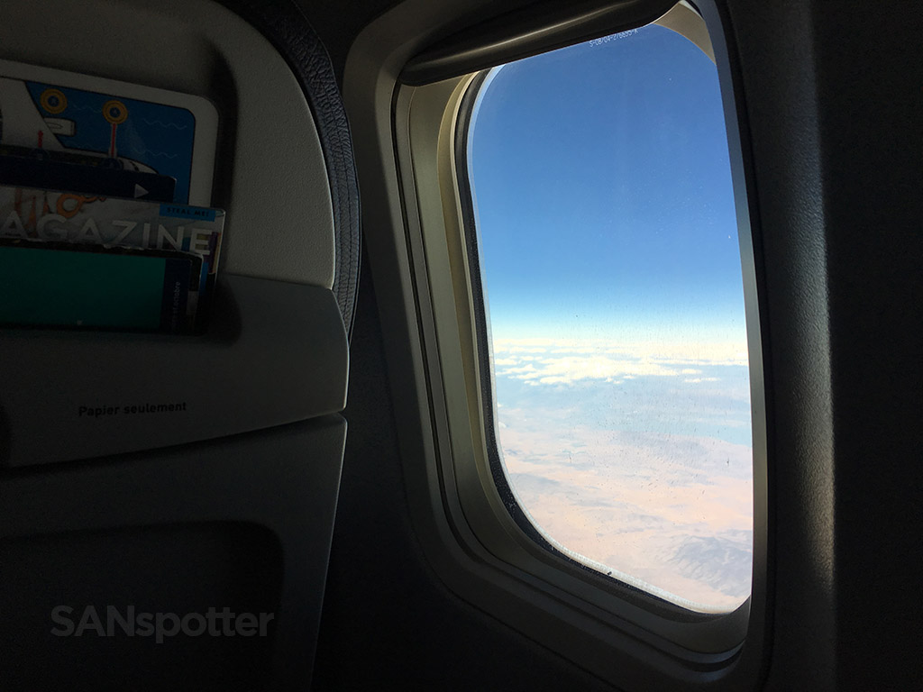 descending into YYC & WestJet 737-700 main cabin (economy class) SAN-YYC u2013 SANspotter
