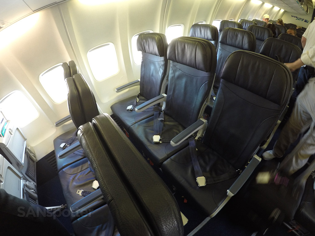 WestJet 737-700 economy class seats