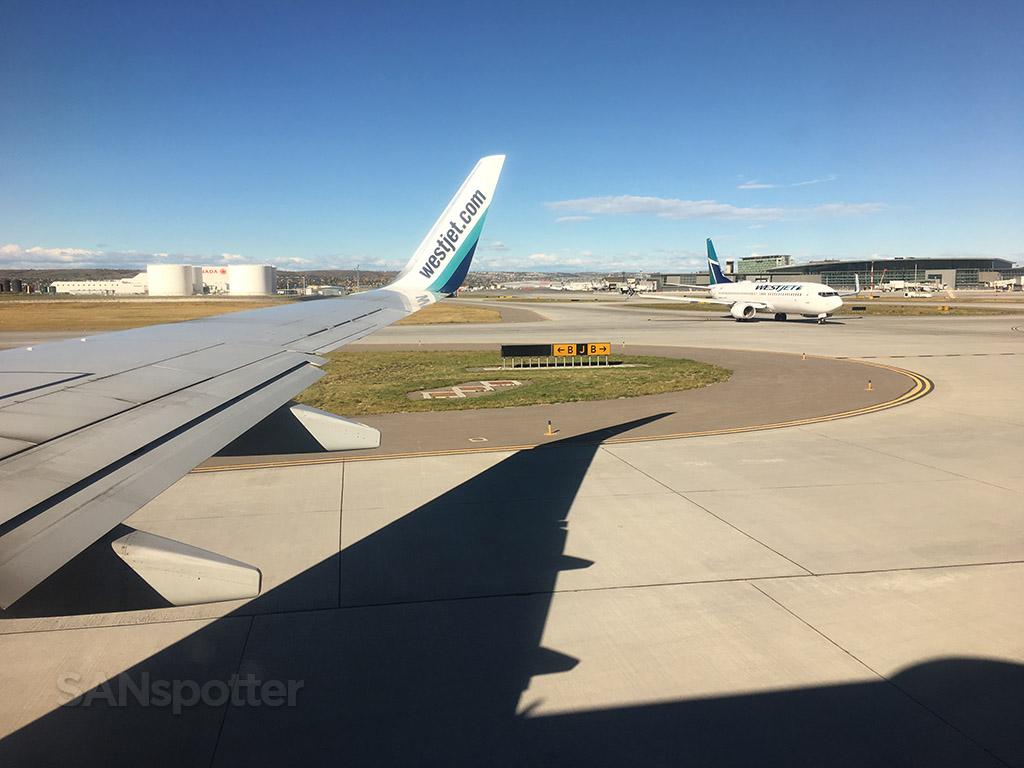 YYC calgary airport westjet