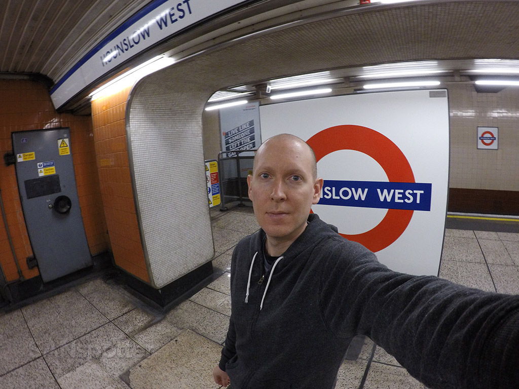 Hanslow West Tube station