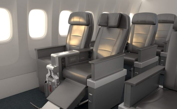 American Airlines new premium economy seats
