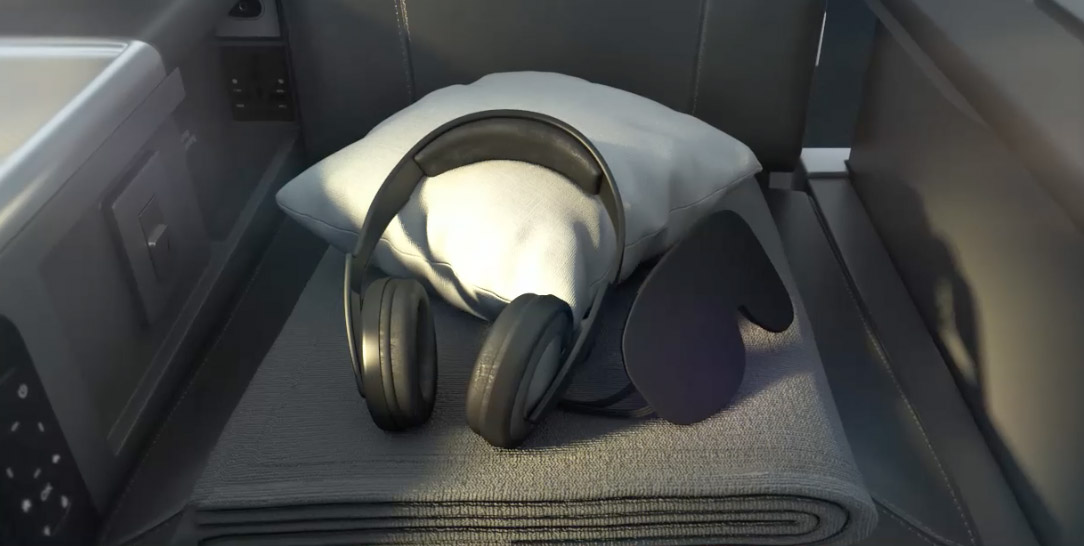American Airlines new premium economy amenities