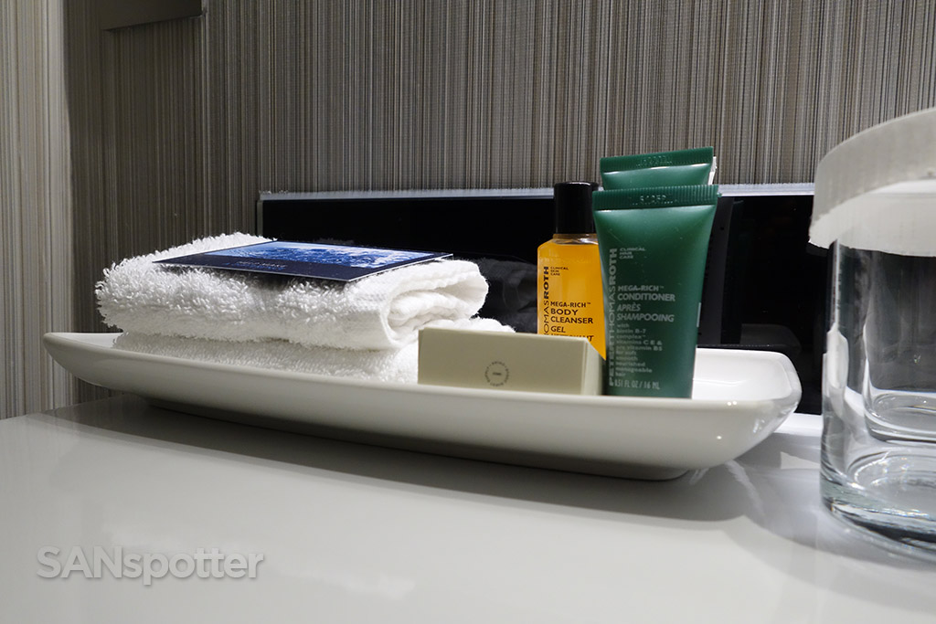 hilton london heathrow terminal 4 bathroom amenities