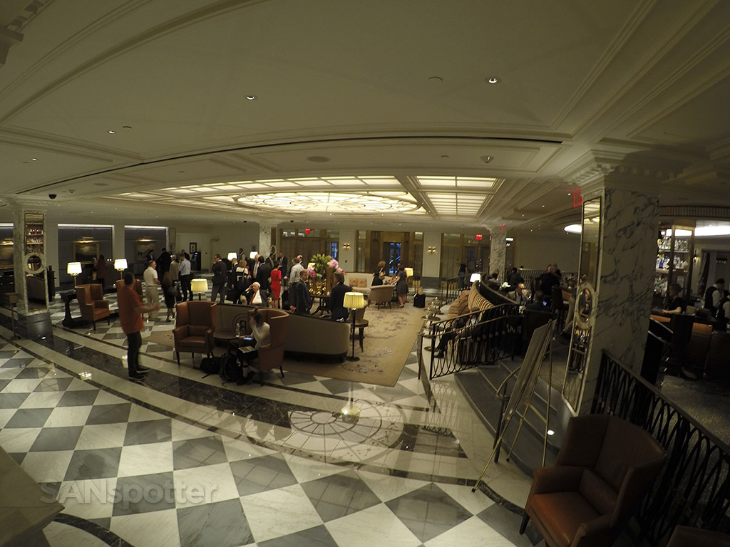 InterContinental New York Barclay lobby