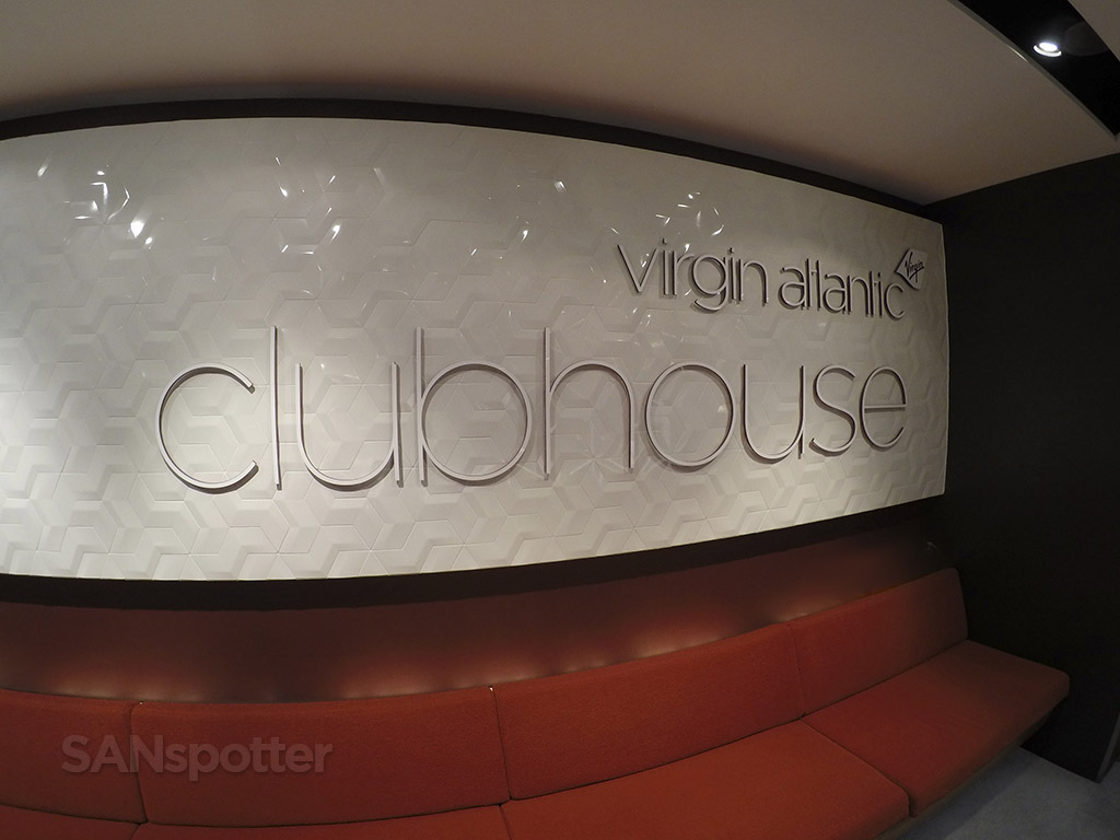 Virgin Atlantic Upper Class lounge entrance LHR