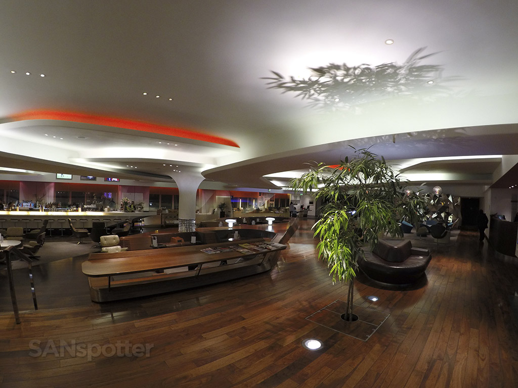 Heathrow Upper Class lounge