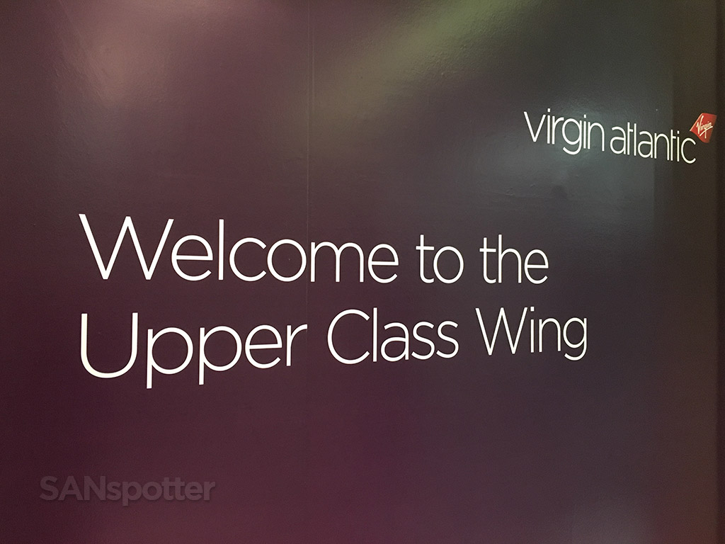 Welcome to the Upper Class Wing LHR