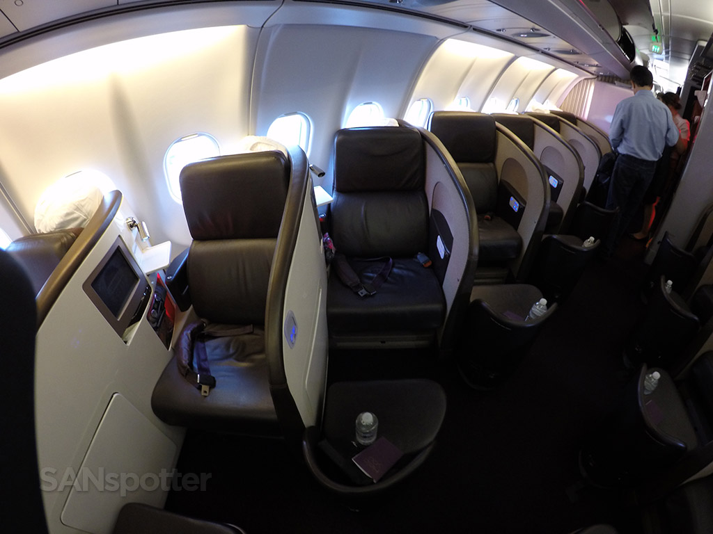 Virgin Atlantic A340-600 Upper Class seats
