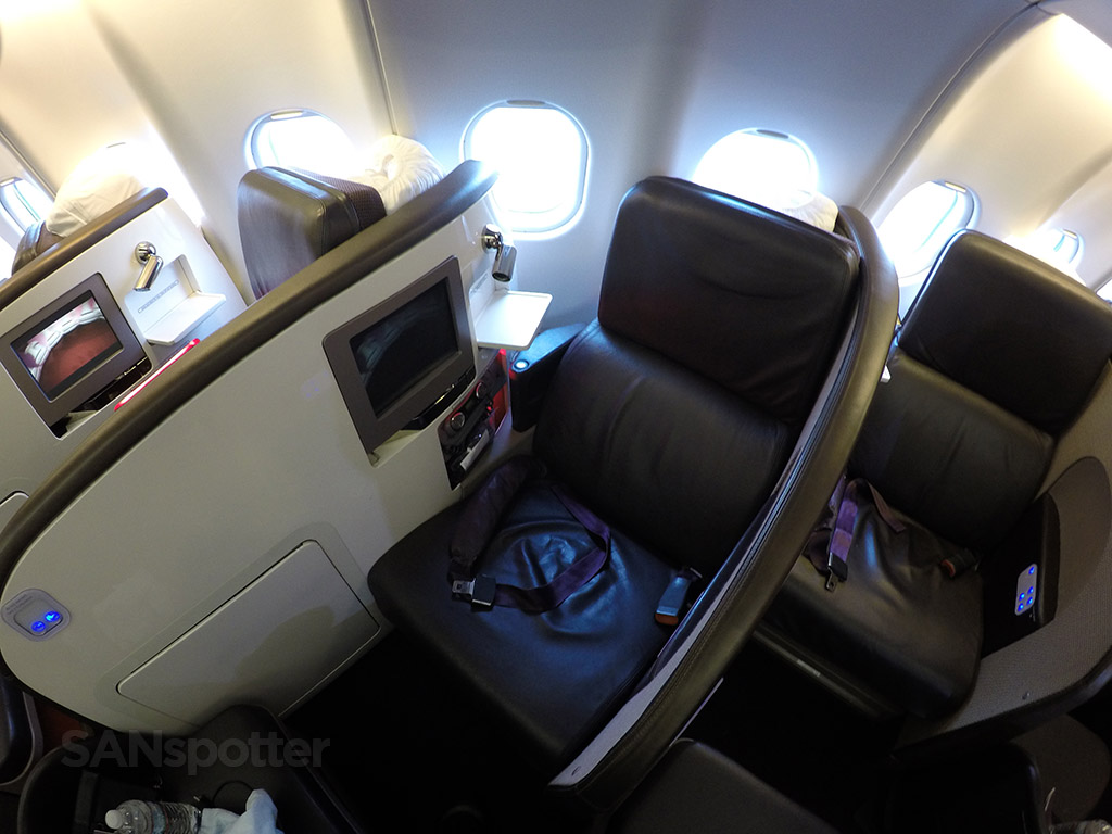 Virgin Atlantic A340-600 Upper Class seat