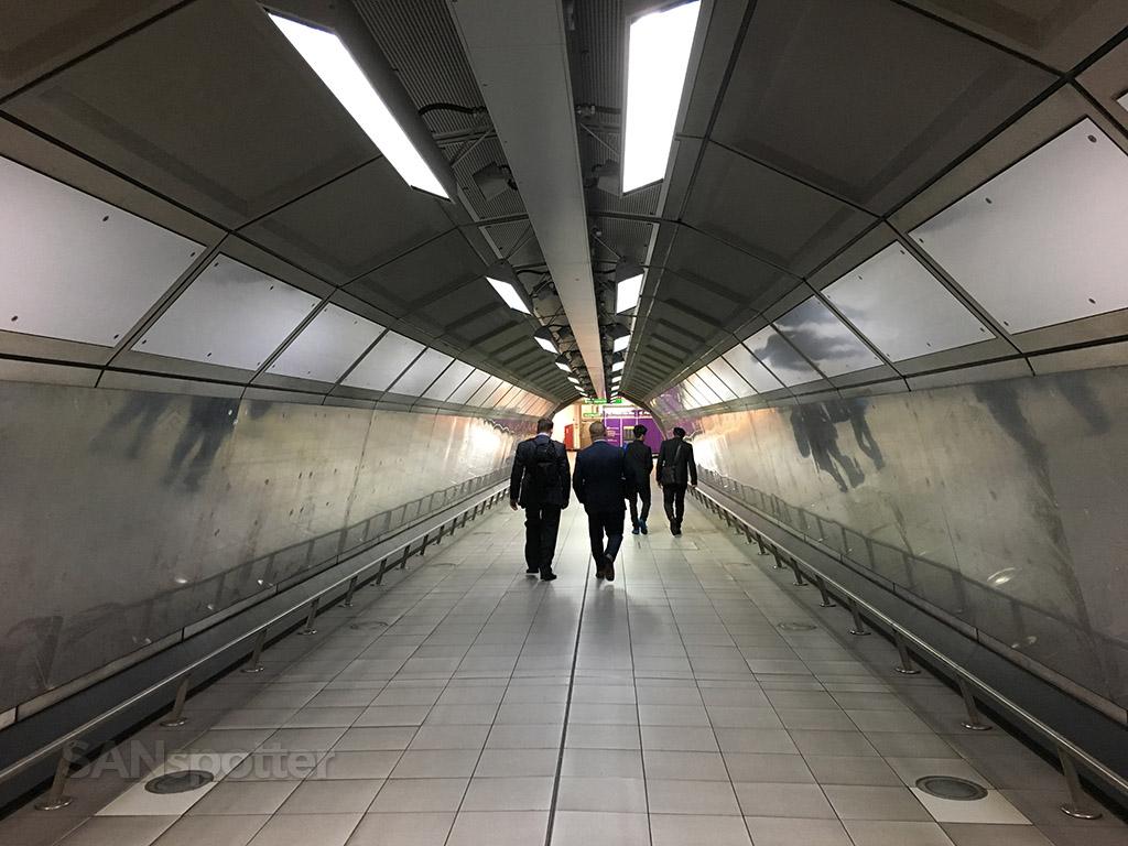 LHR underground tunnels
