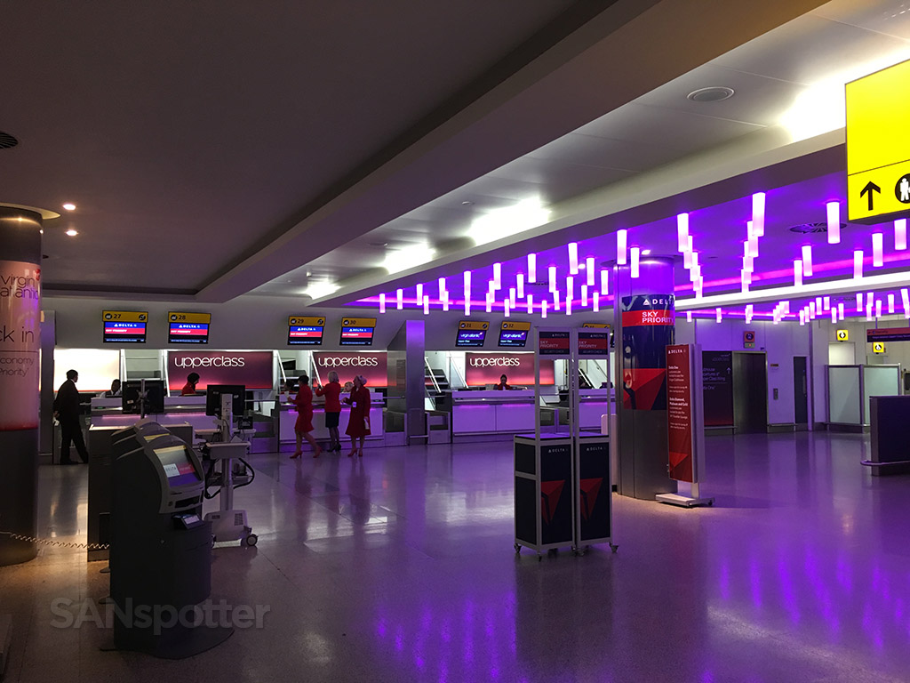 virgin atlantic check in heathrow airport