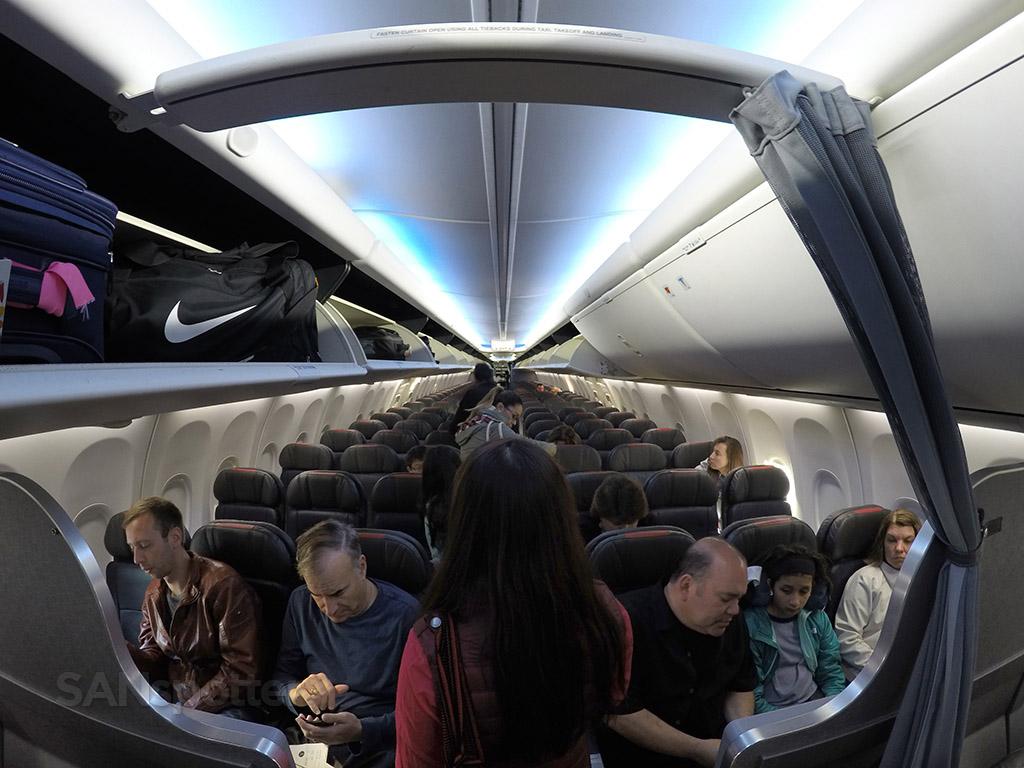 American Airlines 737-800 interior