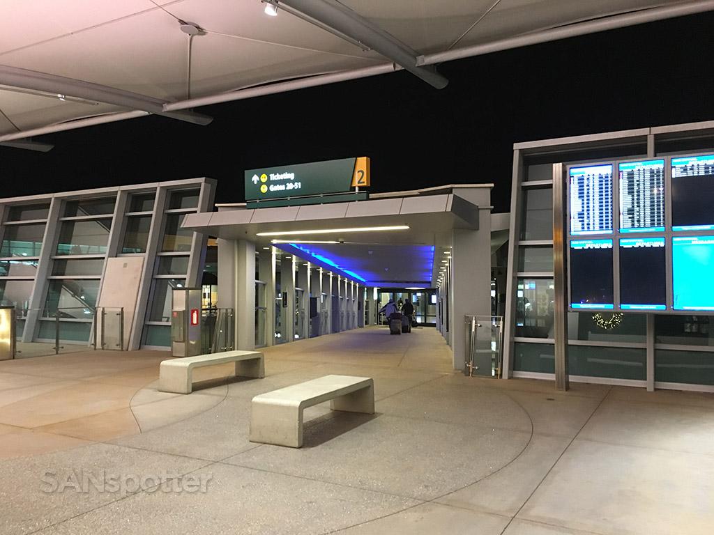 terminal 2 east entrance SAN