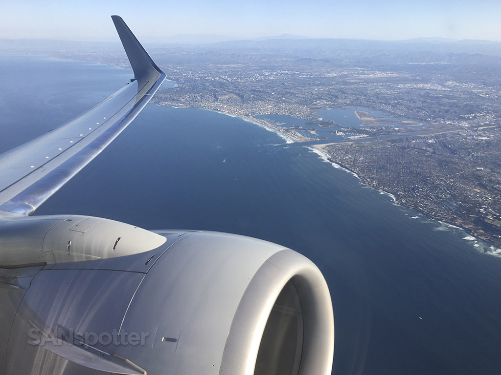 departing san diego airport