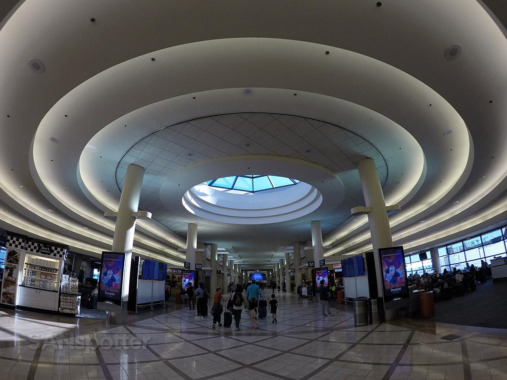 delta airlines terminal 5 LAX interior