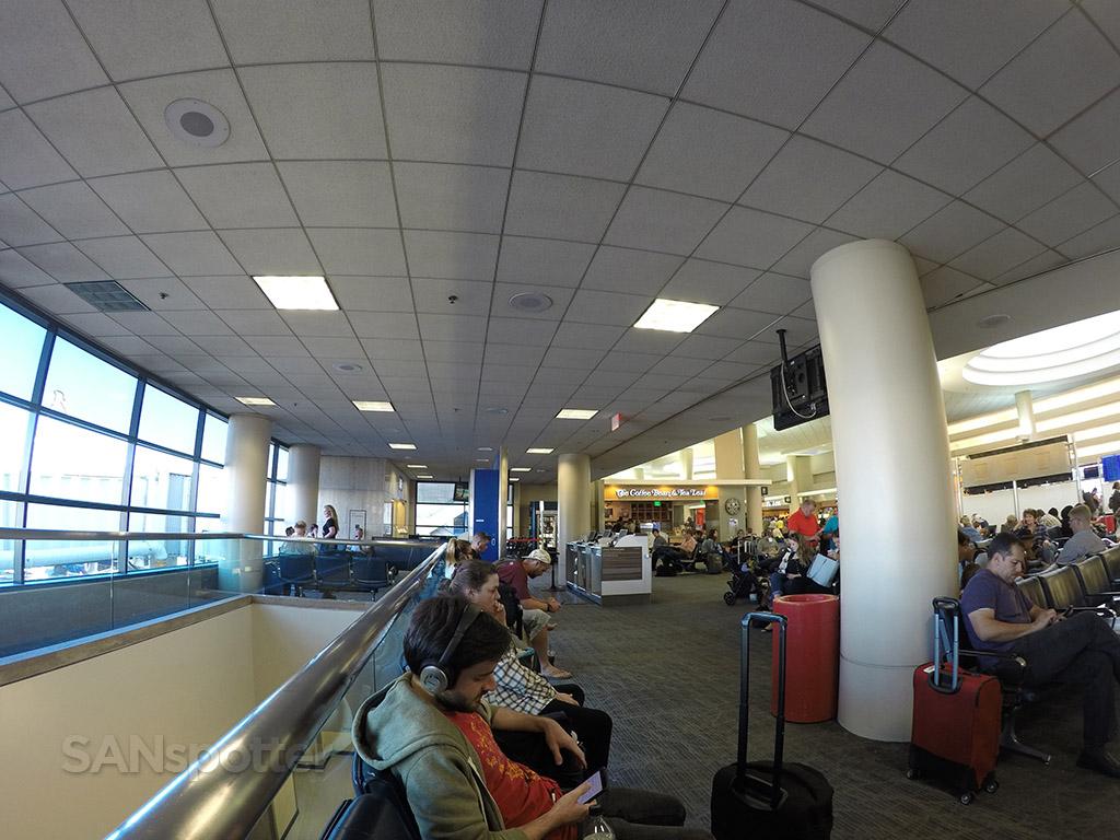 LAX delta terminal 5 gate area