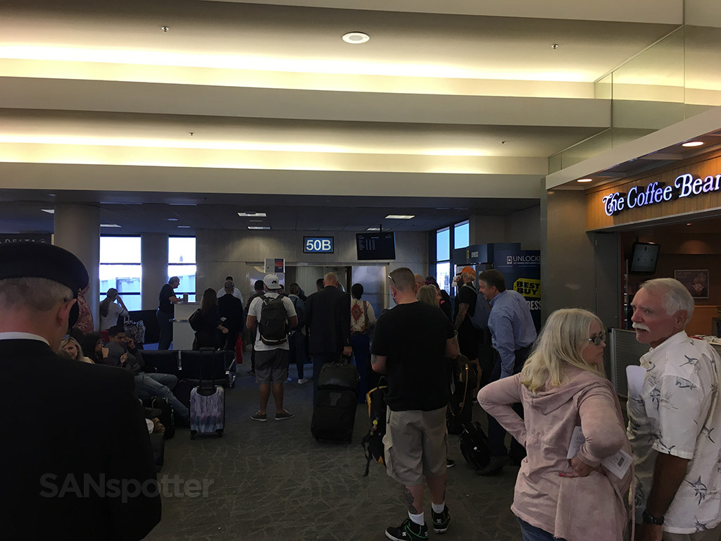 gate 50B LAX terminal 5