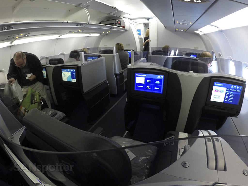 JetBlue A321 Mint cabin