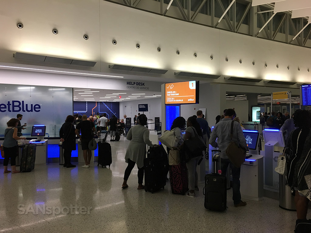 JetBlue check in JFK airport