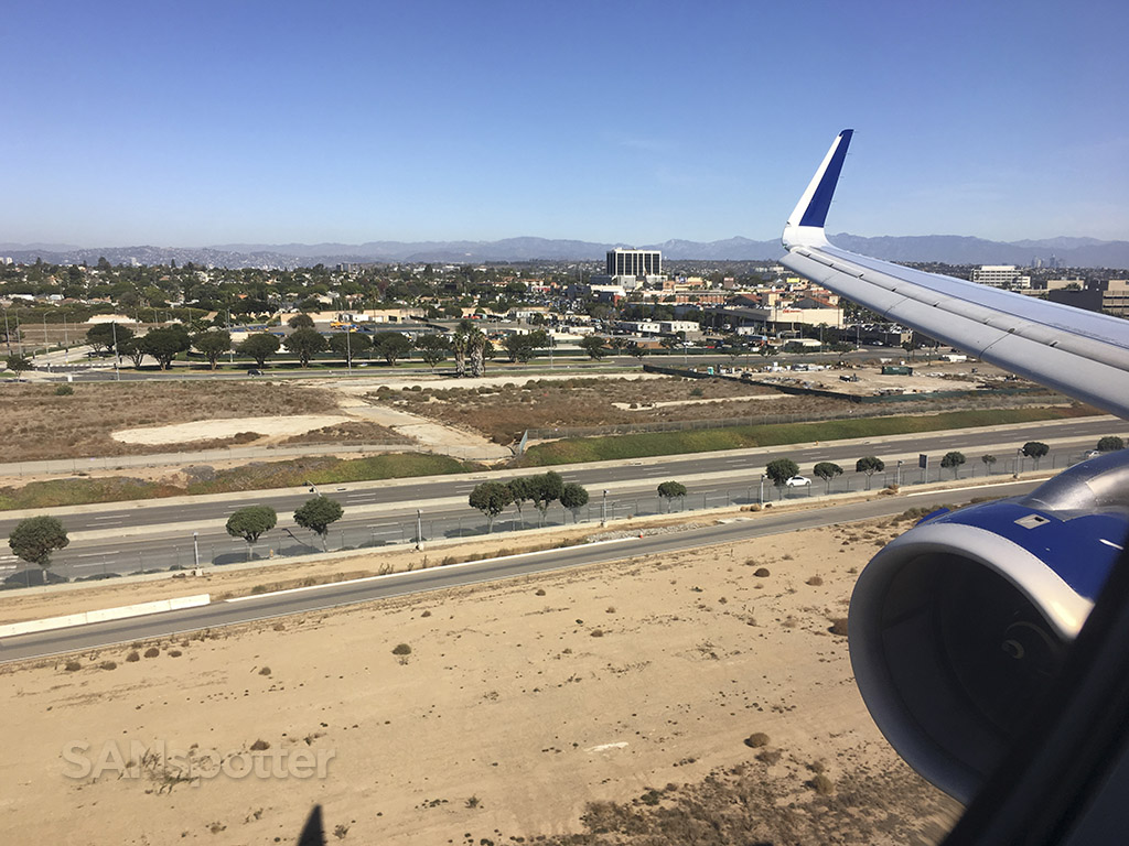 24L arrival LAX airport