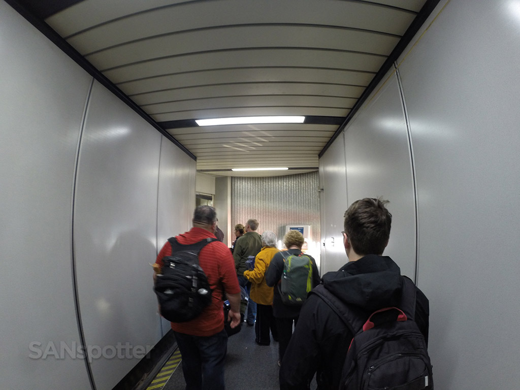 ATL airport jet bridge concourse E