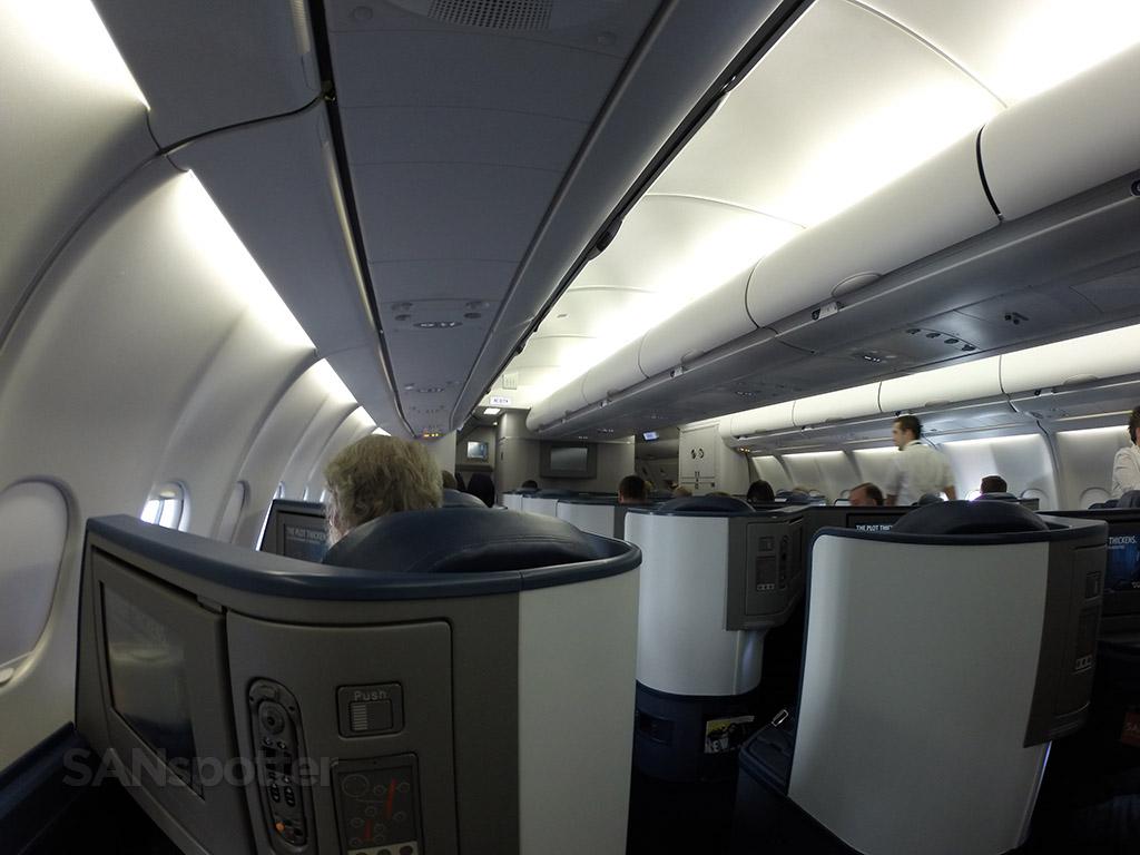 Delta One A330-300 cabin