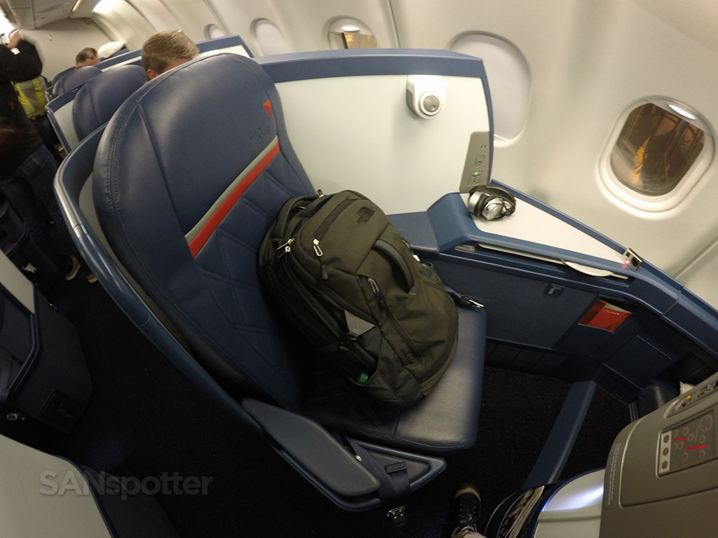 delta one A330-300 seat 6a