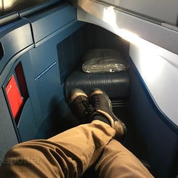 Delta One leg room A330-300