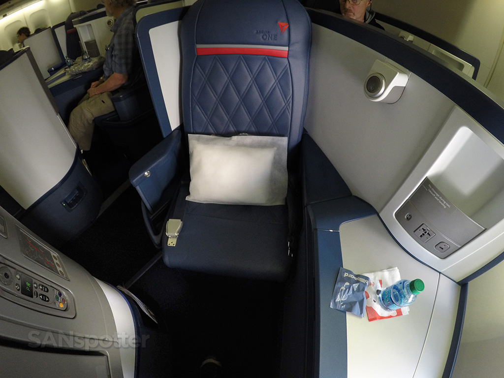 Delta One 747-400 seat 12A