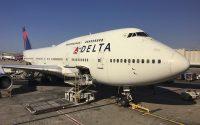 Delta Air Lines 747-400 N662US