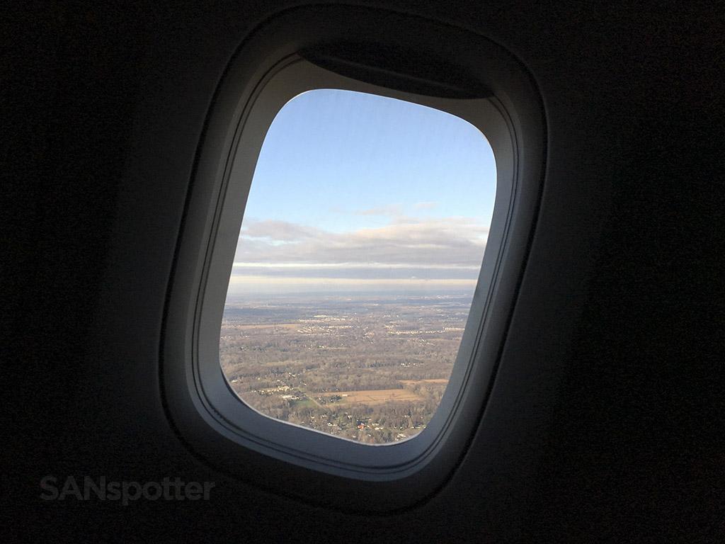 Delta 747-400 departure DTW