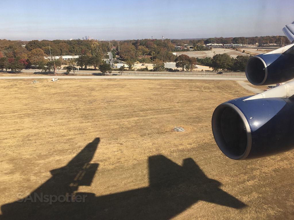 747-400 shadow