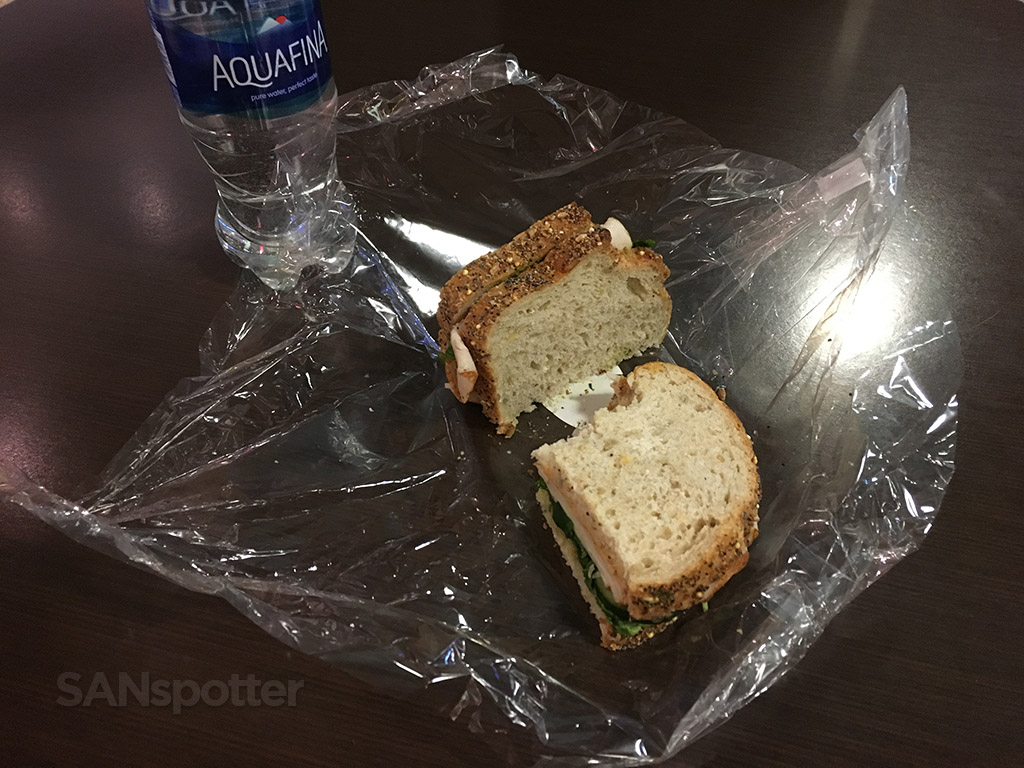 turkey sandwich dinner seattle airport