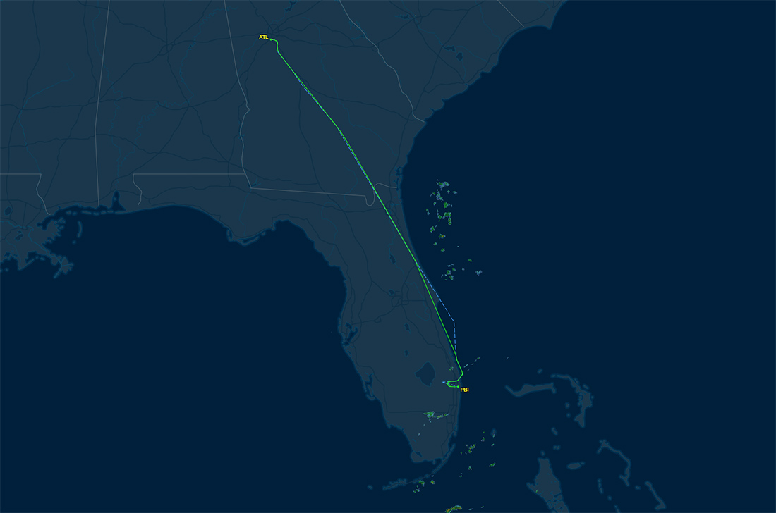 atl-pbi route map