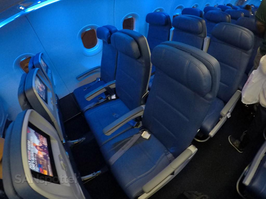 Delta Air Lines A321 economy class seats