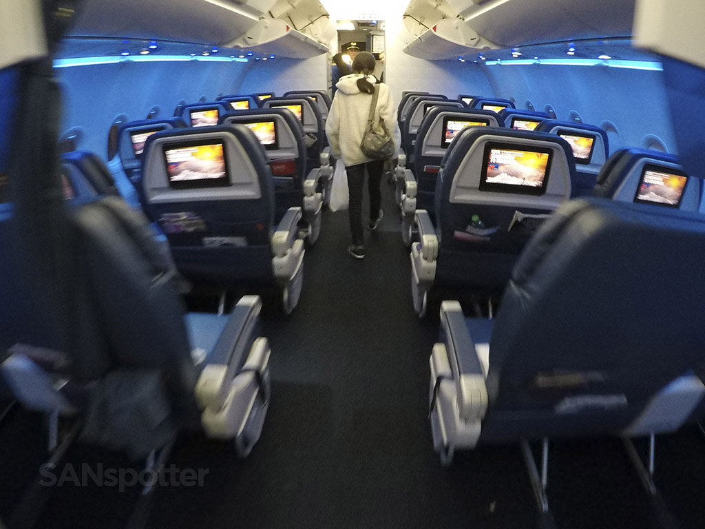 delta air lines a321 first class cabin