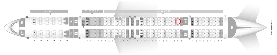 delta 757-300 seat map