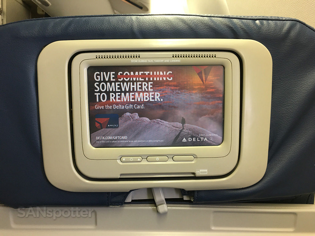 delta 767-400 video screen