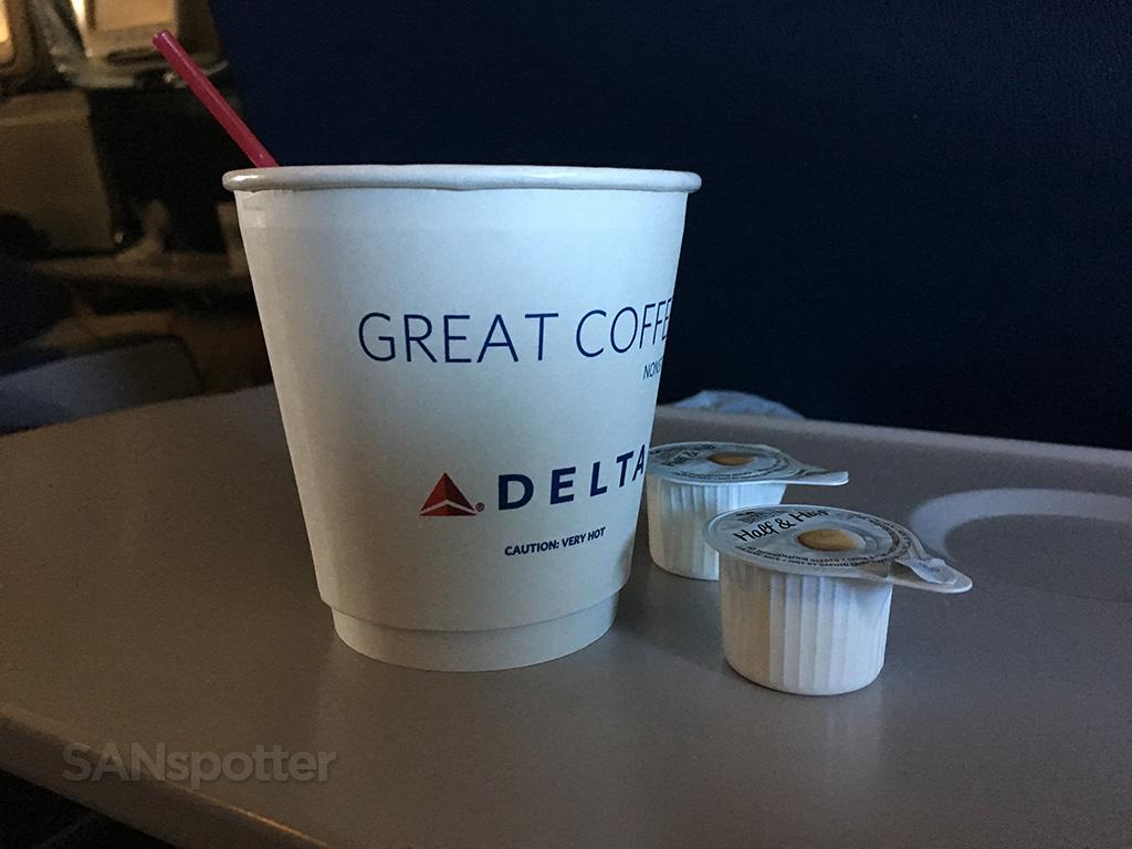 delta air lines coffee cup