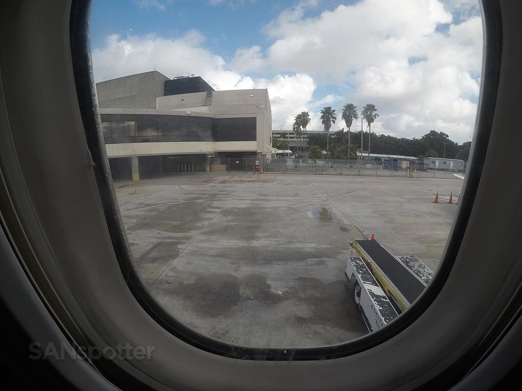 delta air lines PBI gates