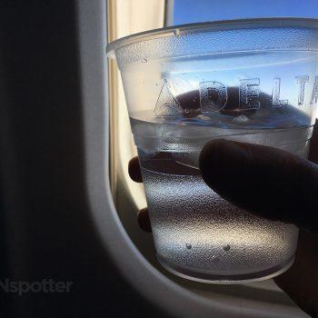delta air lines plastic cup