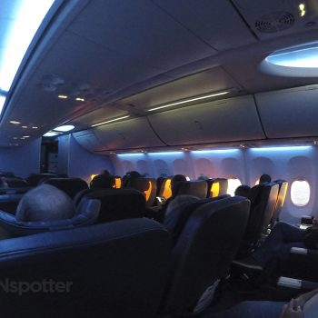 united 737-900 first class cabin
