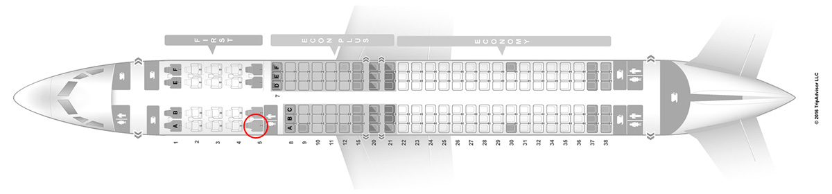 united airlines 737-900 seat map