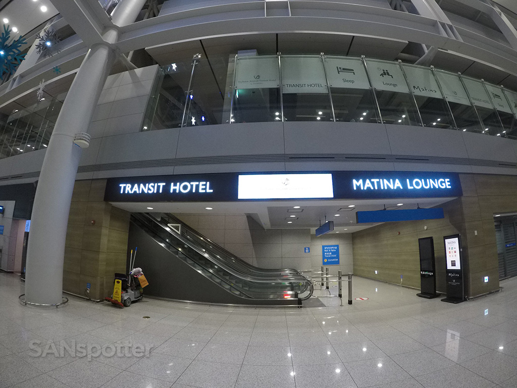 Incheon Transit hotel entrance