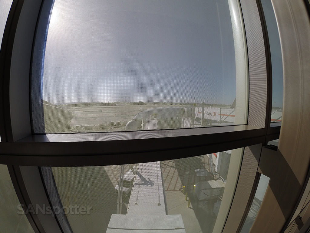 boarding Asiana A380 LAX upper deck
