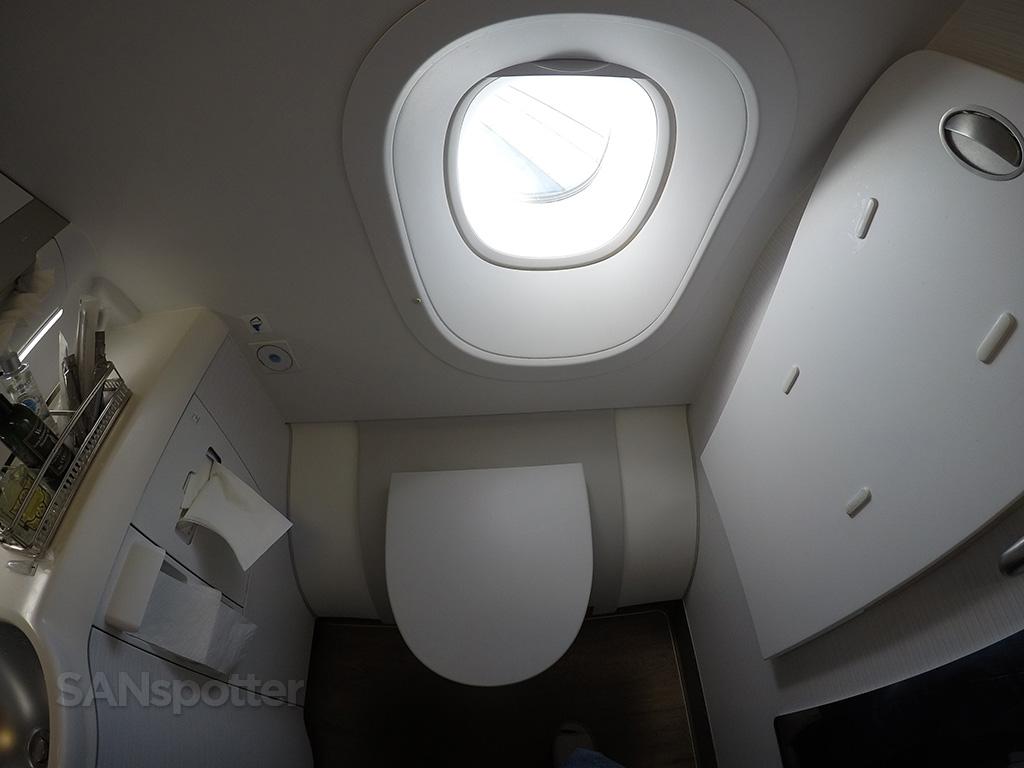 Asiana A380 business class lavatory