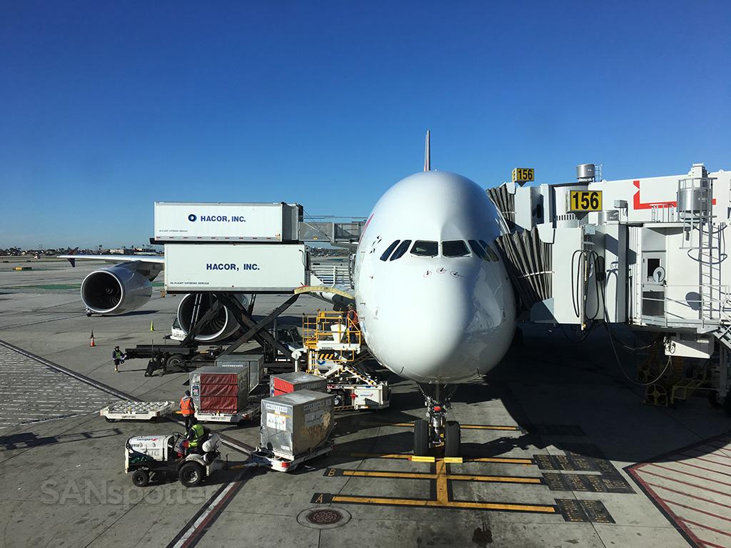 Asiana A380 HL7627 LAX
