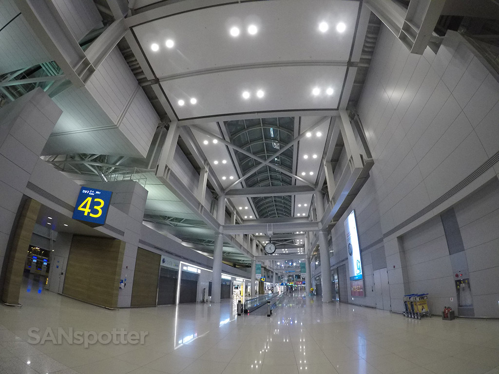 Incheon airport interior