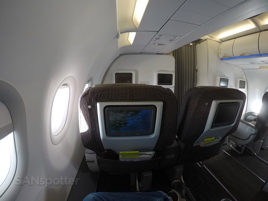 EVA Air A321 business class seats